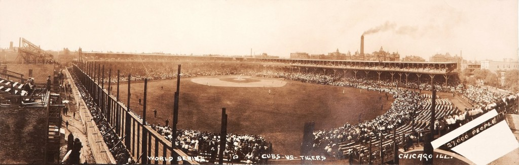 1907 World Series West Side Grounds