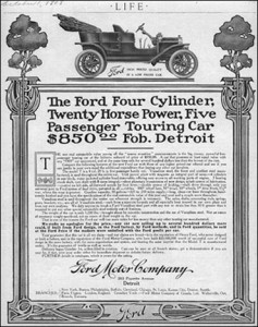 1908 ad for model t in life magazine - Copy
