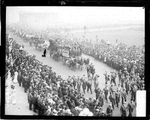 1908 labor day parade