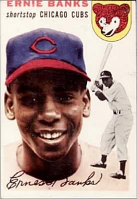 1954 Ernie Banks Topps