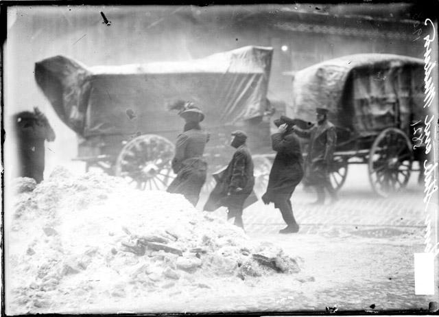 1908 snowstorm Madison street