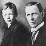 Charles Lindberg & Dad