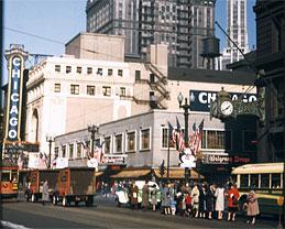 Chicago Theatre 1944
