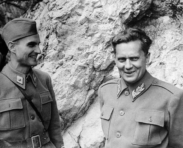 Josip Broz Tito and Arsa Yovanovitch_jpg