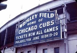Wrigley marquee green