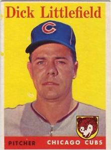 Dick Littlefield Cubs 1958