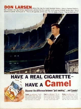 Don Larsen Camel Ad