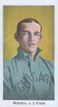 Frank Schulte 1910