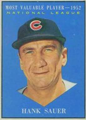 Hank Sauer MVP