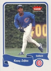 Kenny Lofton Fleer 2004