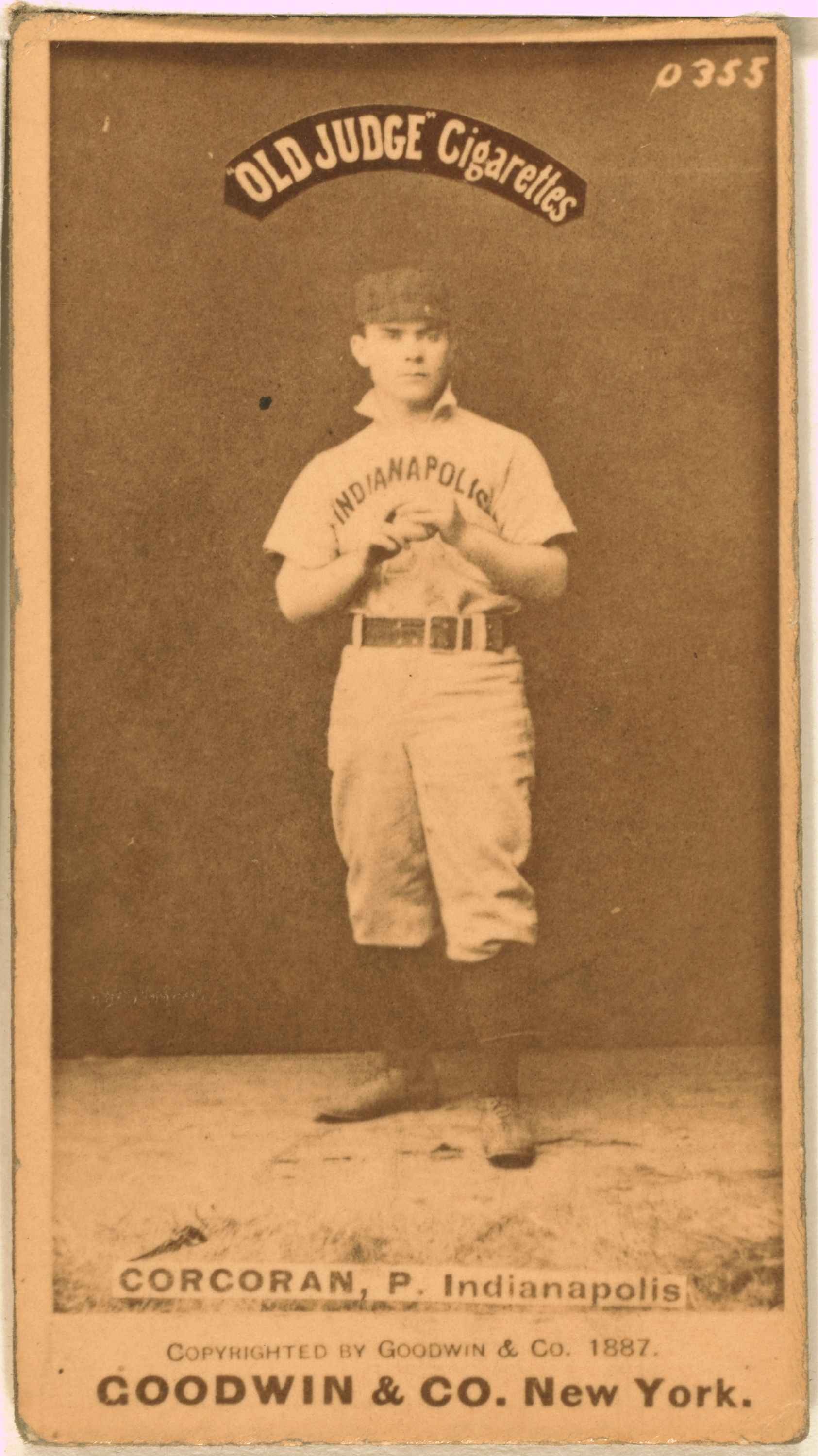 Larry_Corcoran_baseball_card