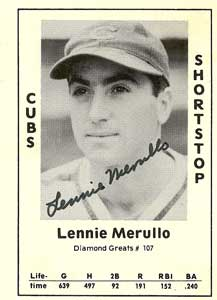 Lennie Merullo