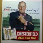 Leo Durocher cigarette ad