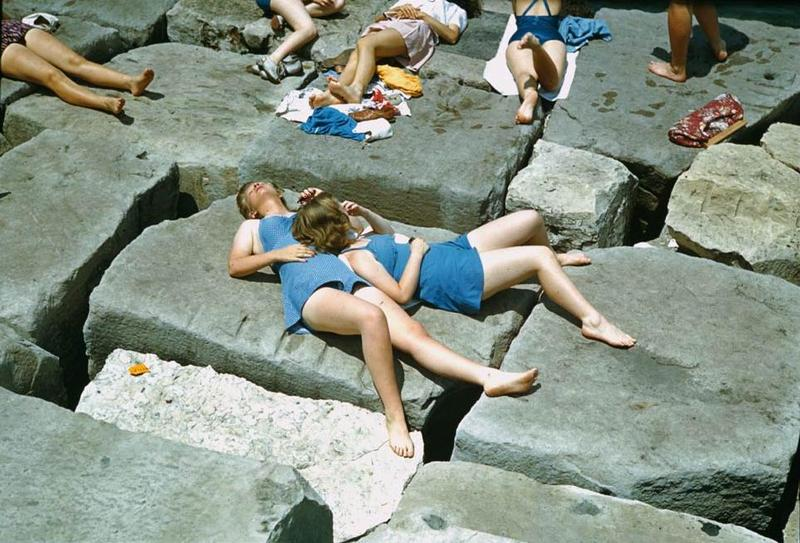 Sunbathers 55th Street 1941