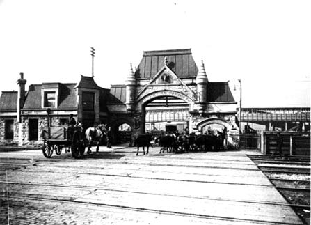 Union Stockyards gate