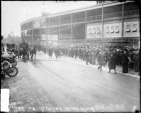 Weeghman Park 1914