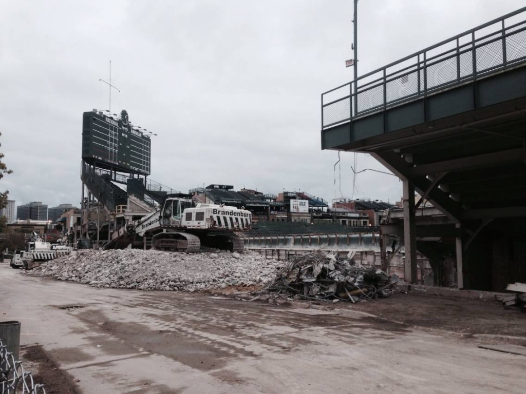 Wrigley construction 2014